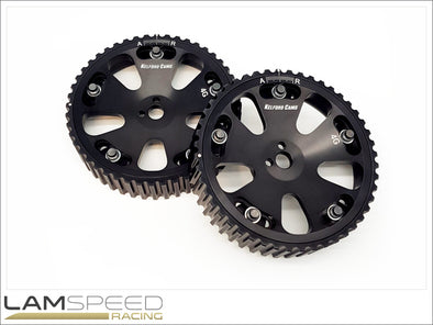 Kelford Cams - Adjustable Cam Gears - Mitsubishi EVO 1-9 4G63 - available from Lamspeed Racing.