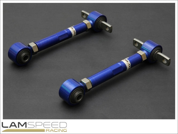 Hardrace Adjustable Rear Camber Arm - Mitsubishi EVO 1-3 - Hardened Rubber - available from Lamspeed Racing.