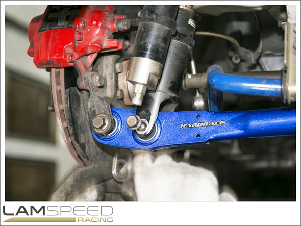 Hardrace Adjustable Rear Lower Control Arm - Mitsubishi EVO 4-9 - Spherical Bearing - available from Lamspeed Racing.