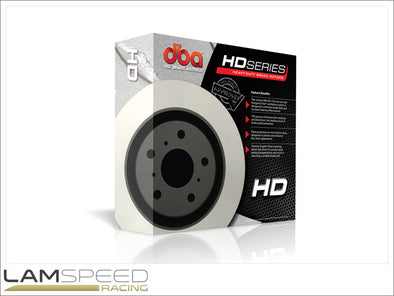 DBA - 4000 Series HD Brake Rotors - Mitsubishi Evolution 4-9 - available from Lamspeed Racing.