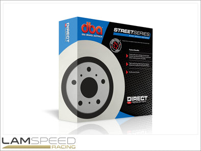 DBA - Street Series Standard Brake Rotors - Mitsubishi Evolution 4-9 - available from Lamspeed Racing.