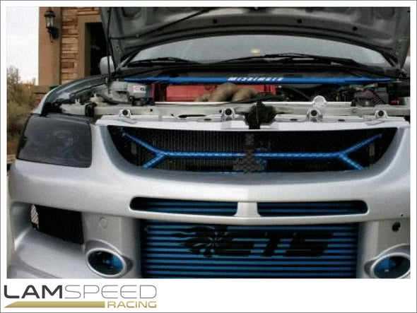 ETS (Extreme Turbo Systems) - Cusco Power Brace Intercooler Upgrade - Mitsubishi Evolution 7, 8 & 9 - Available from Lamspeed Racing