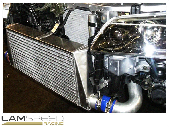 ETS (Extreme Turbo Systems) - Standard Tank Intercooler - Mitsubishi Evolution 7, 8 & 9 - available from Lamspeed Racing.