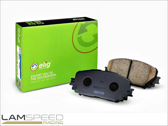 ELIG Brakes Standard Performance Brake Pad - N95B - Nissan 350Z Z33 2DR V6 Rears (2003-2009) - available from Lamspeed Racing.