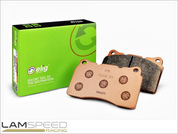 ELIG Brakes Sports Performance Brake Pad - SB539 - Honda Integra DC5S 2.0 Type S  - Fronts - (2004 - 2007) - available from Lamspeed Racing.