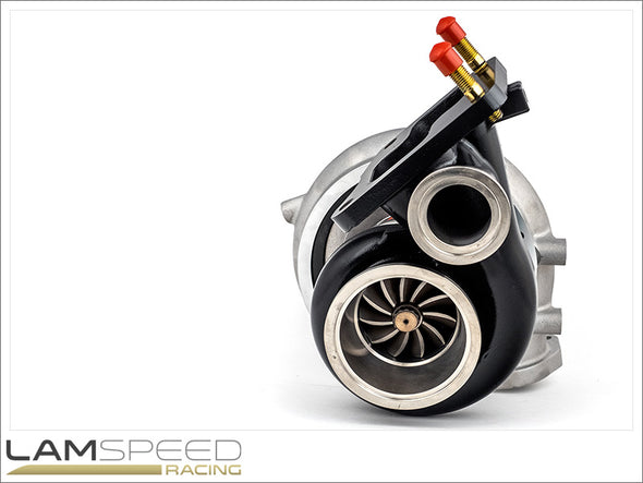 FP Black Turbocharger - Mitsubishi Evolution IV, V, VI, VII, VIII, IX - available from Lamspeed Racing.