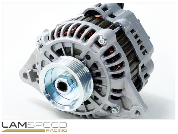 Lamspeed Racing - High Output Alternator - Mitsubishi Evo 4-9 - 170 Amp - Available from Lamspeed Racing