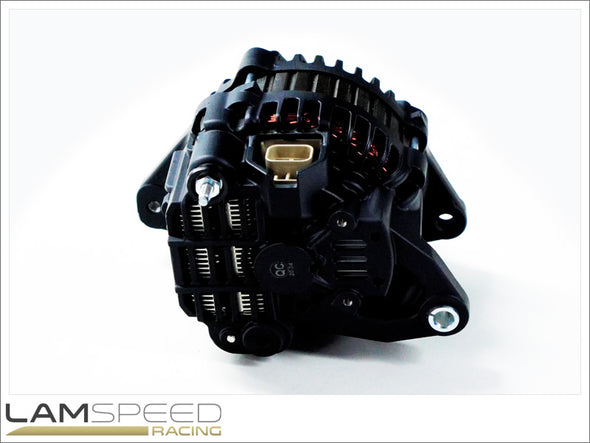 Lamspeed Racing - High Output Alternator - Nissan RB20/25/26/30 - 180 AMP - available from Lamspeed Racing.