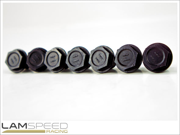 OEM Flywheel Bolts - Mitsubishi Evo 4, 5, 6, 7, 8 & 9 - available from Lamspeed Racing.