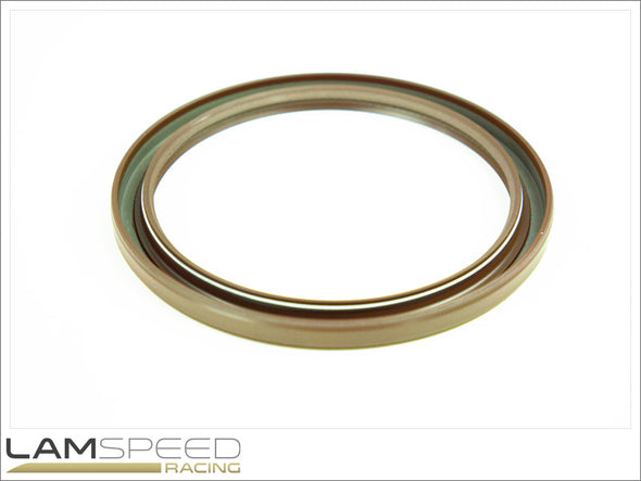 OEM Main Crankshaft Oil Seal (Rear) - Mitsubishi Evo 4, 5, 6, 7, 8 & 9 - available from Lamspeed Racing.
