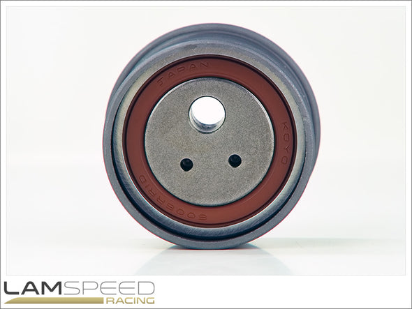 OEM Timing Belt Tensioner Pulley - Mitsubishi Evo 4, 5, 6, 7, 8 & 9 - available from Lamspeed Racing.