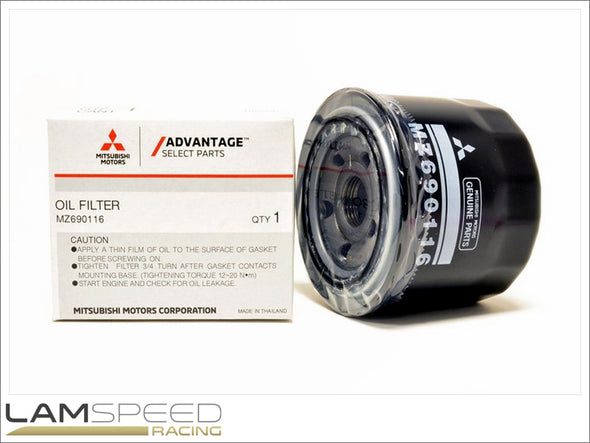 OEM Oil Filter - Mitsubishi 4G63 - Available from Lamspeed Racing