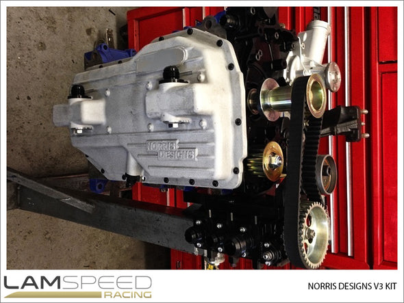 Norris Designs Dry Sump Kit - Mitsubishi Evo 4-9 - Available from Lamspeed Racing