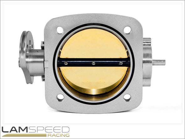 Plazmaman - Billet Throttle Body - 72mm - Mitsubishi EVO 4-9 - available from Lamspeed Racing.