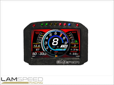 EMtron ED5 Display with GPS - available from Lamspeed Racing.