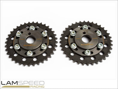 Kelford Cams - Adjustable Cam Gears - Nissan SR20 - available from Lamspeed Racing.