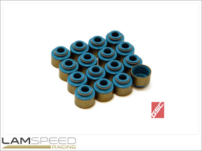 GSC Power-Division Viton Valve Stem Seals for the Mitsubishi 4G63T - available from Lamspeed Racing.