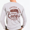 CHASIN' GOOD TIMES LONG SLEEVE // TRI GREY