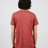 HERITAGE LOGO T-SHIRT // CLAY HEATHER