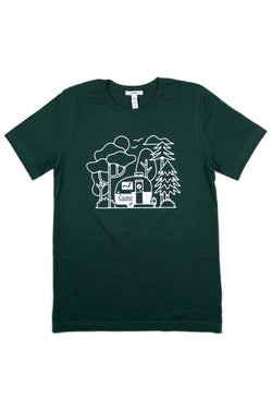 Bolerama T-shirt // Forest