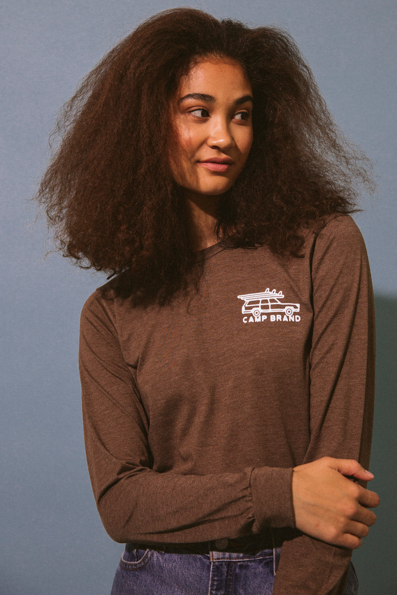 Tofino Long Sleeve // Brown Heather