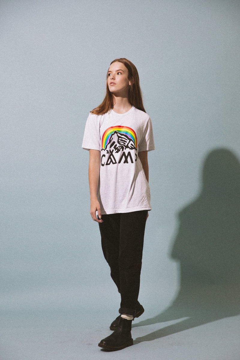 In It Together T-Shirt // Tri White Fleck
