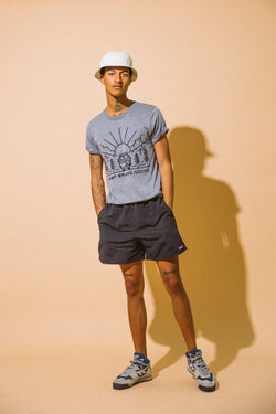 GOING TO THE SUN T-SHIRT // TRI GREY