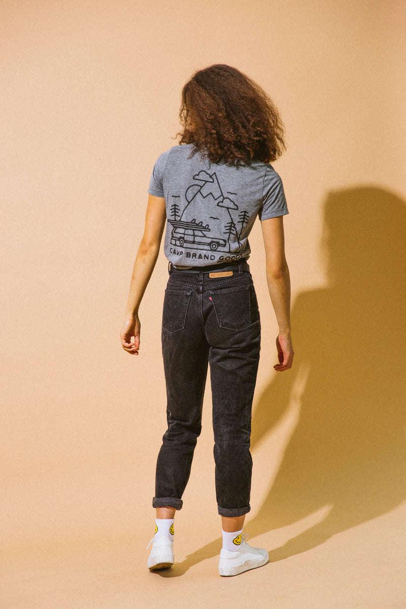 TOFINO RELAXED T-SHIRT // TRI GREY