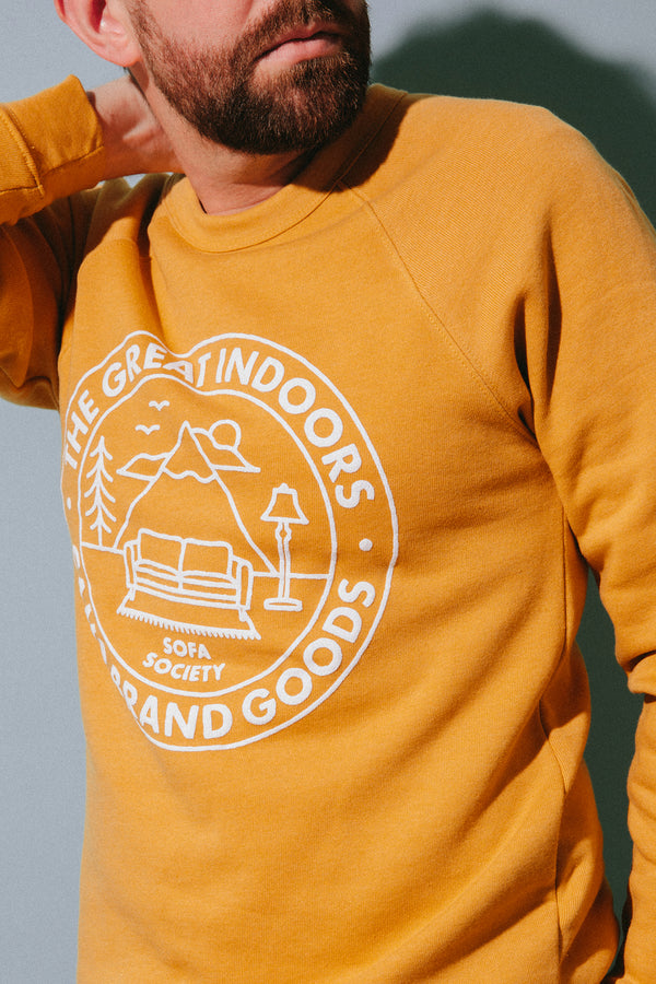 The Great Indoors Sweatshirt // Mustard