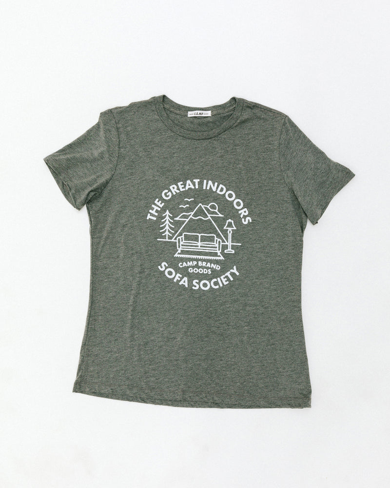 The Great Indoors Relaxed T-Shirt // Tri Grey