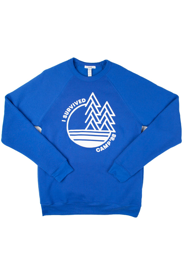 Camp'88 Sweatshirt // True Royal