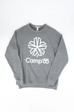 Camp'88 Sweatshirt // Tri Grey