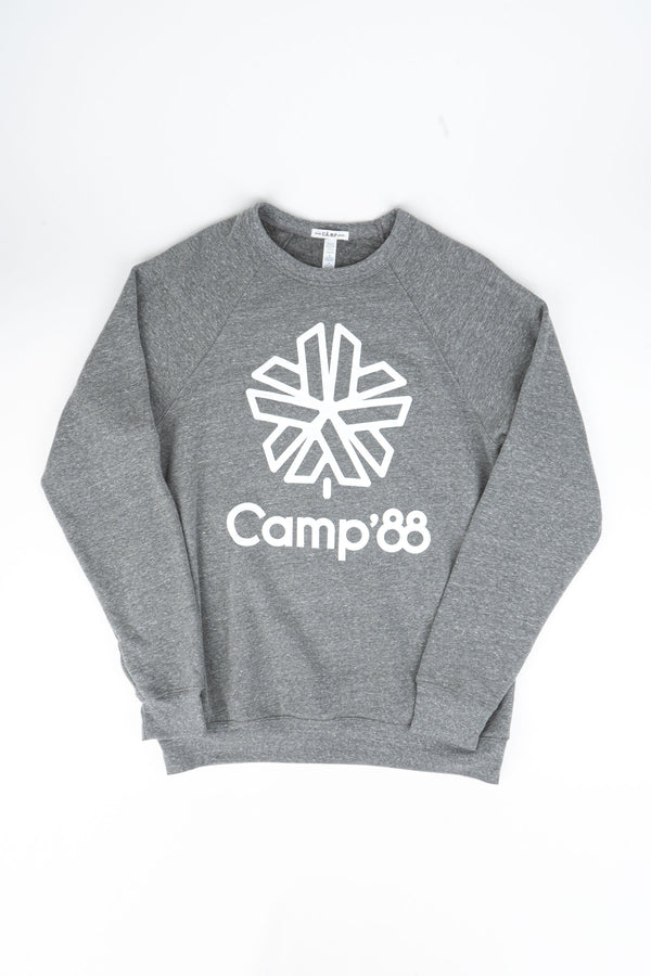 CAMP'88 CREWNECK // TRI GREY