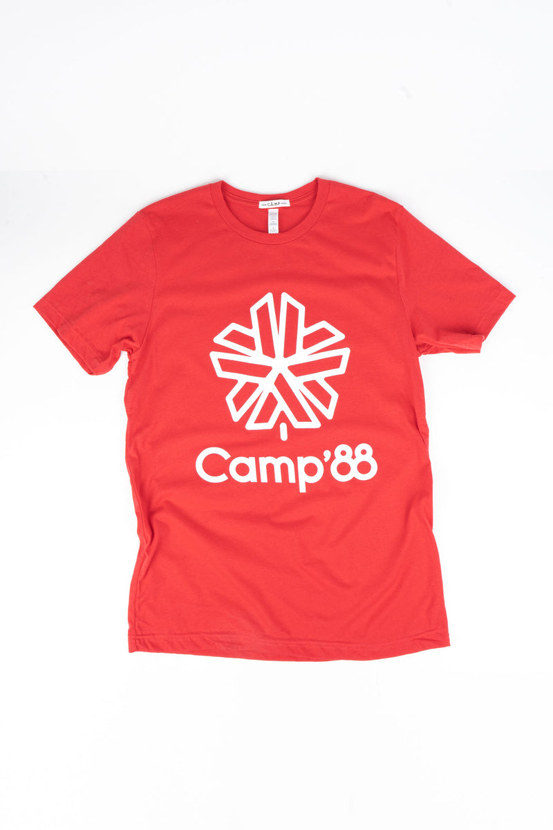 Camp'88 T-Shirt // Red