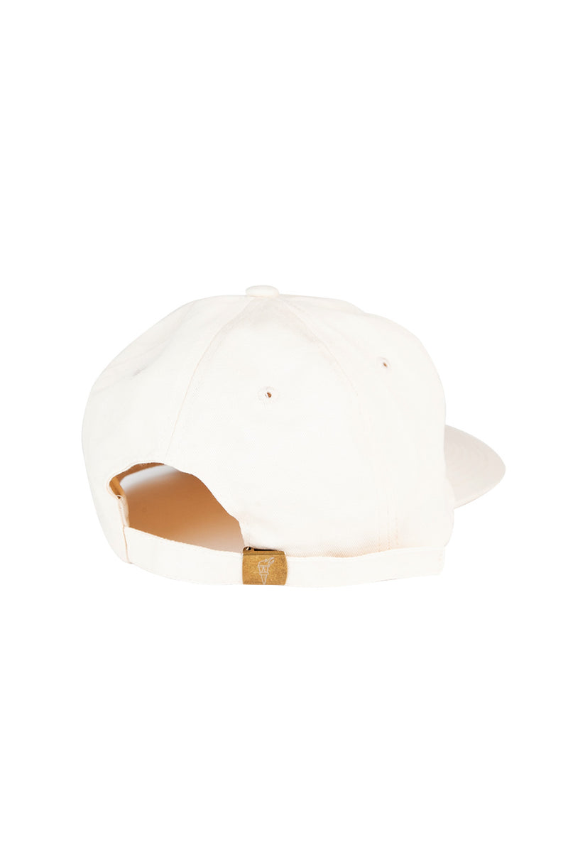 In It Together Unstructured 6 Panel Cap // Beige