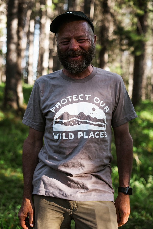 Wild Places T-Shirt // Pebble