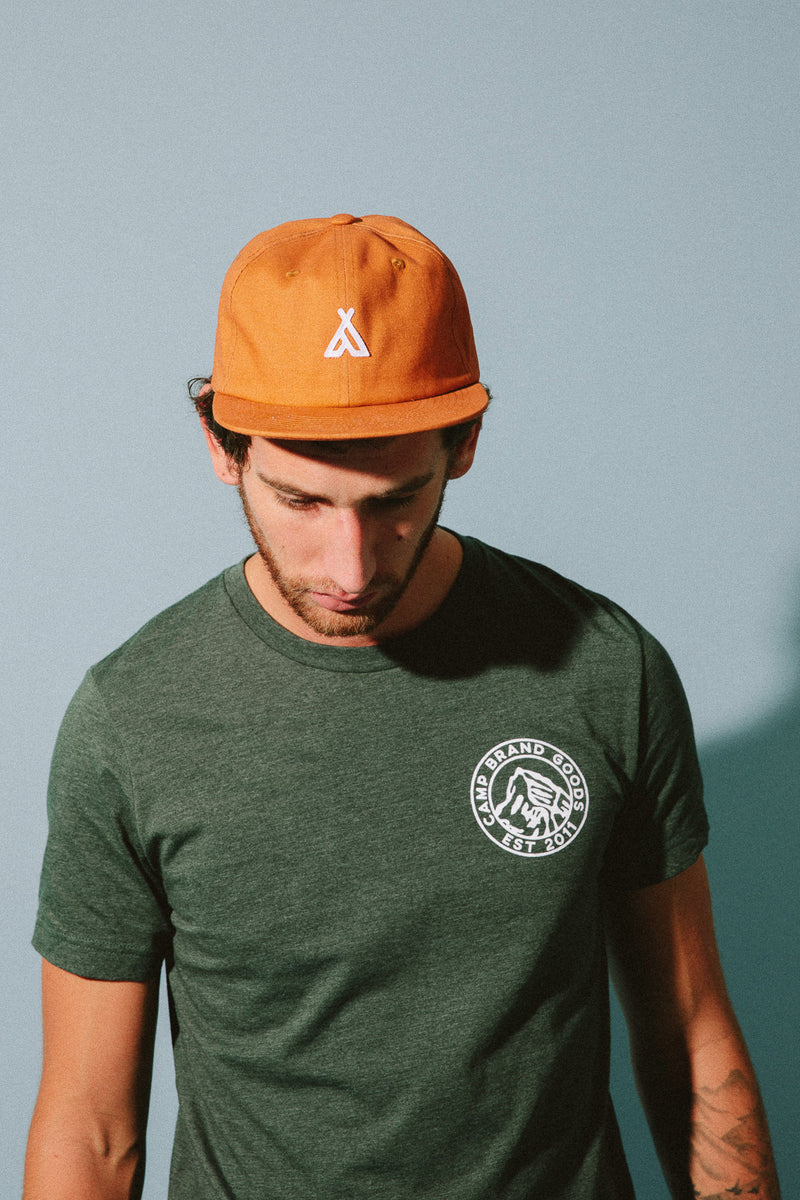 Heritage Crest T-Shirt // Forest Heather