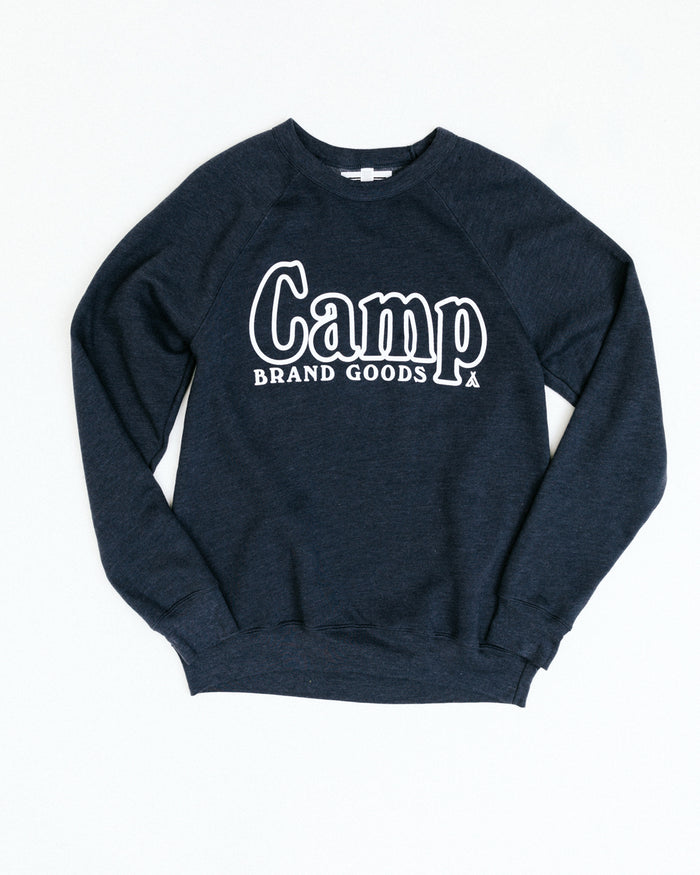 COUNSELLOR'S CREWNECK // NAVY HEATHER