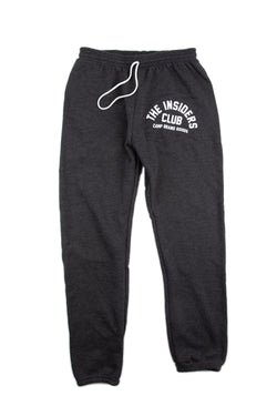 The Insiders Club Joggers // Dark Grey