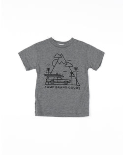 TODDLER TOFINO T-SHIRT // TRI GREY