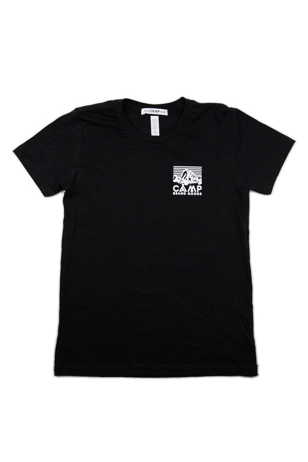 Kids Heritage Logo T-Shirt // Black Heather