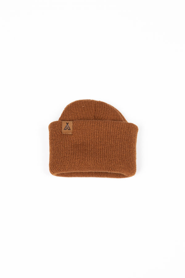 Kids Campers Logo Toque // Copper