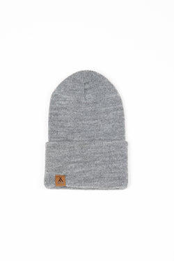Kids Campers Logo Toque // Grey
