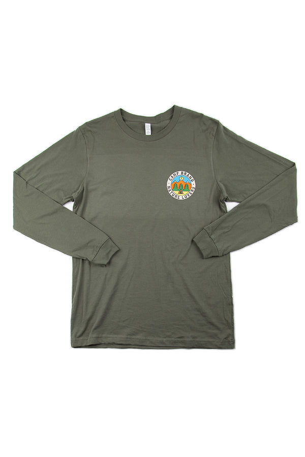 Nature Lovers Long Sleeve // Moss Green