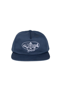 Nice Catch Snapback Hat // Navy