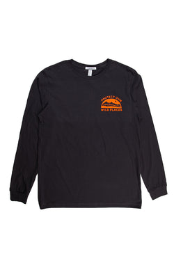 Wild Places Long Sleeve // Dark Grey