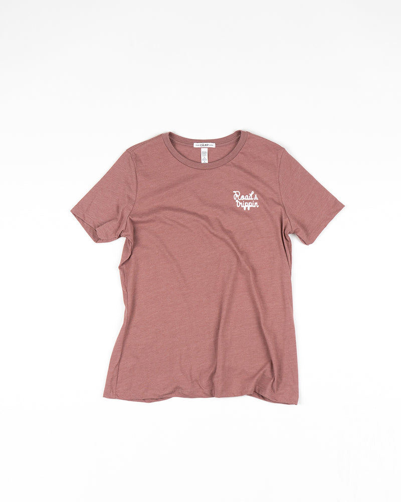 Road Trippin Relaxed T-Shirt // Mauve