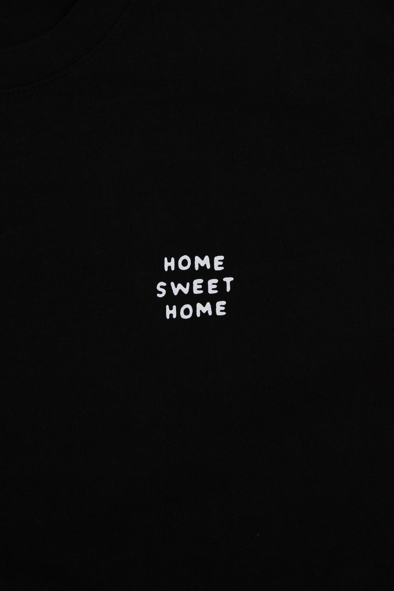 Home Sweet Home T-Shirt // Black
