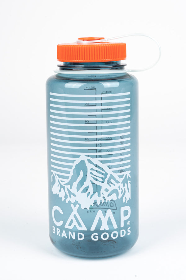 HERITAGE LOGO 32 OZ WATER BOTTLE - CADET BLUE