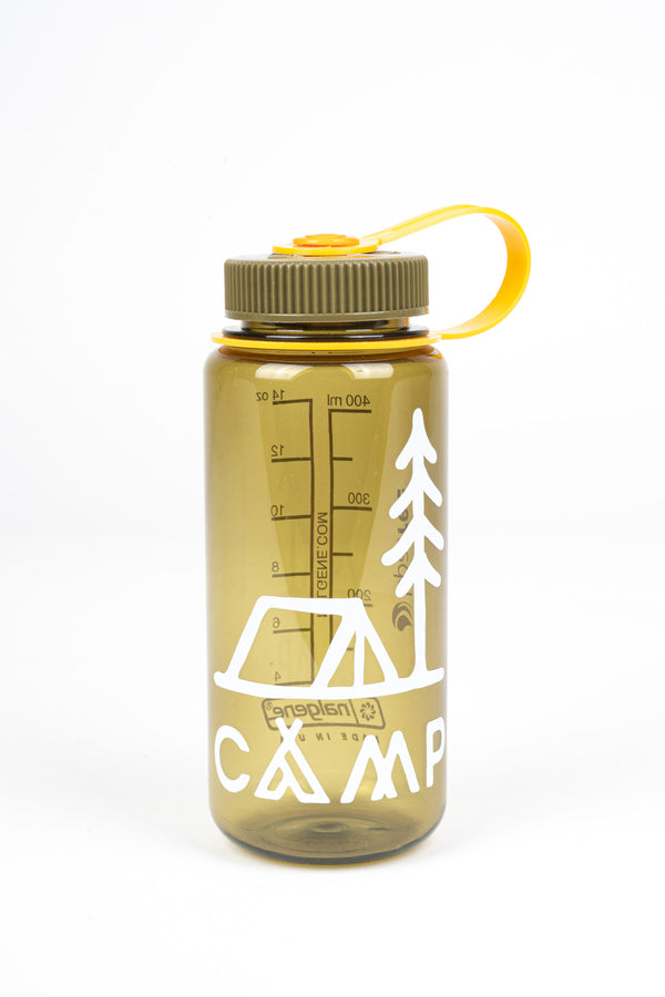IN TENTS 16 OZ WATER BOTTLE - OLIVE